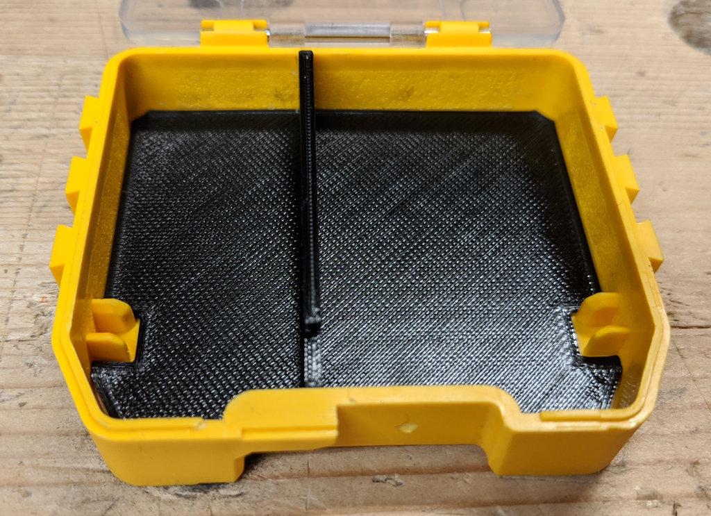 Dewalt Toughcase Bulk Storage Container Offset Divider