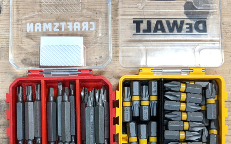 Dewalt Toughcase and Craftsman Bulk Storage Container Dividers