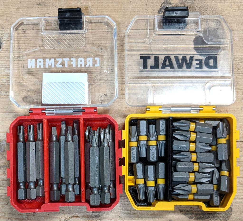 Dewalt Toughcase and Craftsman Bulk Storage Container Dividers