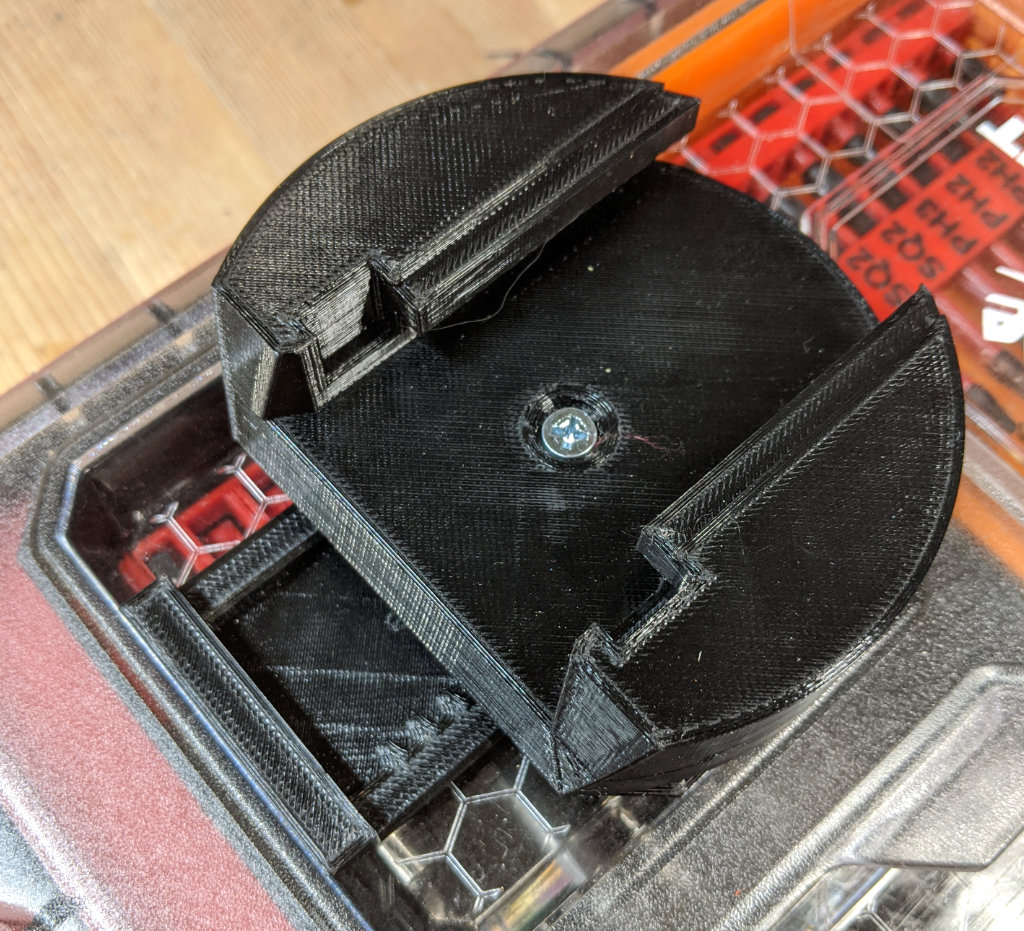 Packout Locking Foot M18 Battery Mount without Battery