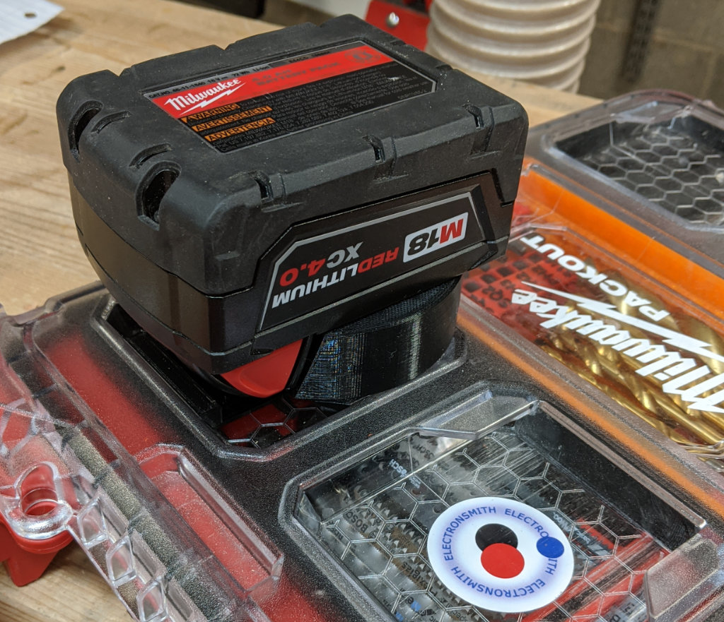 Packout Locking Foot M18 Battery Mount