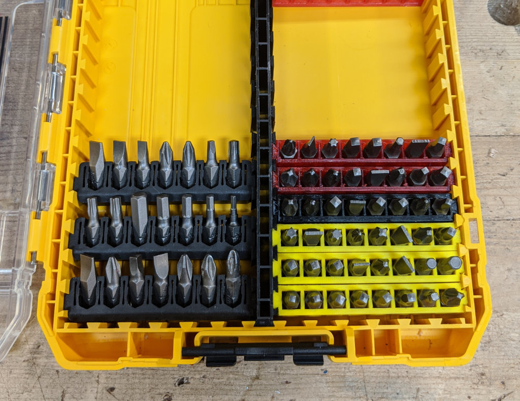 Dewalt Toughcase High Denstity Bit Storage