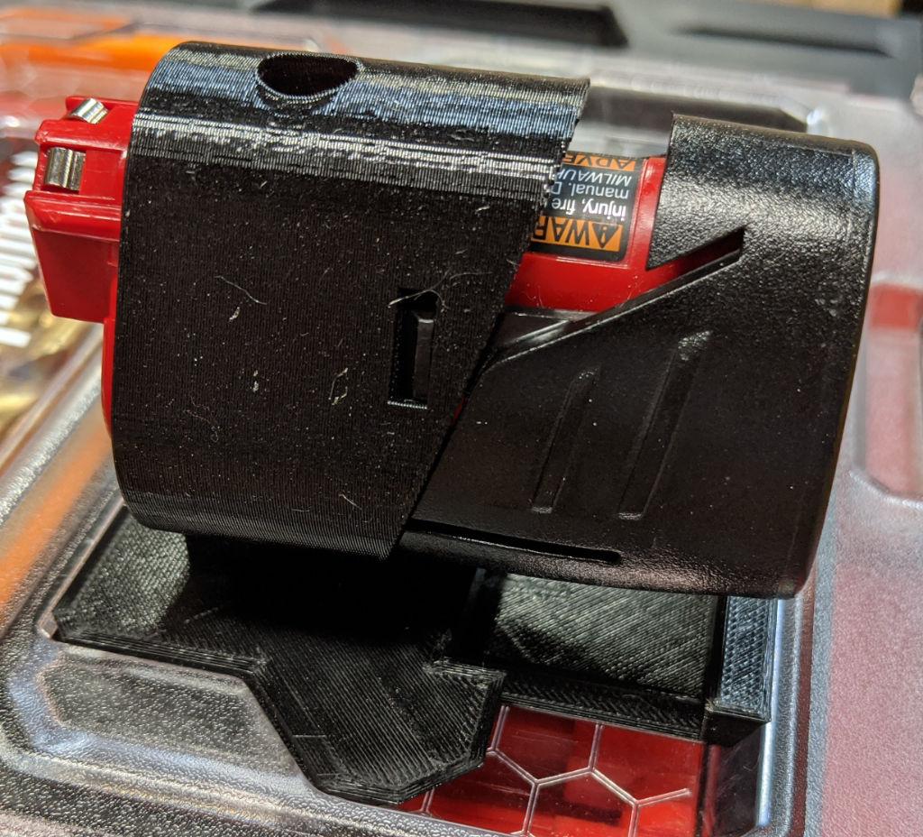 3 Cell M12 Battery in Holder